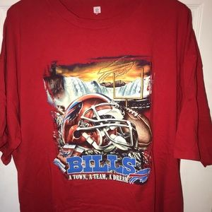 Buffalo Bills T Shirt men's 3XL